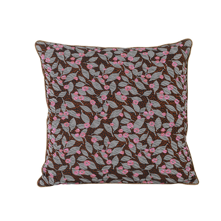 Ferm Living Salon Cushion, Flower Rust