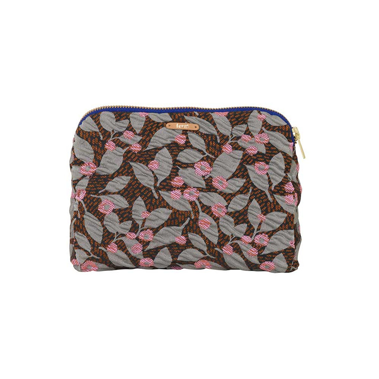 Ferm Living Salon Purse, flower rust