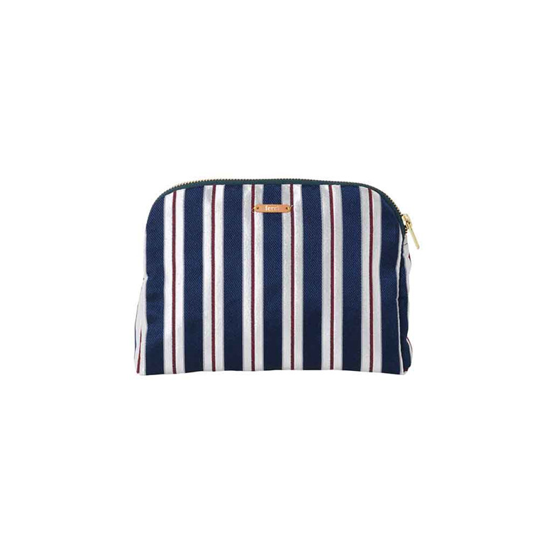 Ferm Living Salon Purse, pinstripe