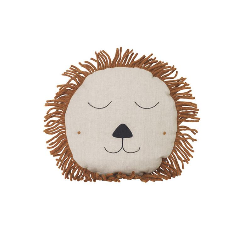 Ferm Living Safari pude, Løve