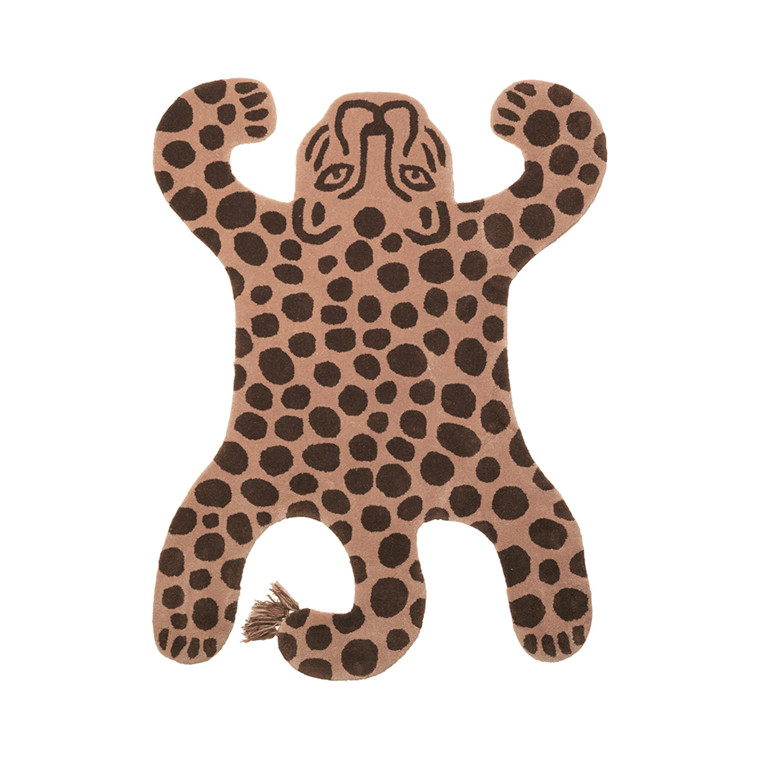 Ferm Living Safari gulvtæppe, leopard