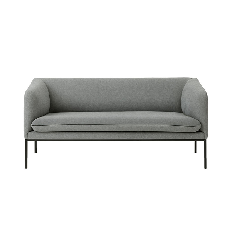 Ferm Living Turn 2-personers sofa i uld