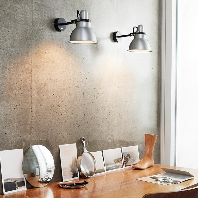 Anglepoise Type 1228 ™ Metallic væglampe