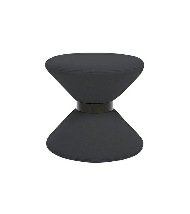 Tom Dixon Drum Stool, sort stol
