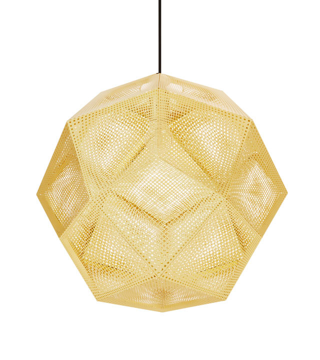 Tom Dixon Etch Shade, pendel 50 cm