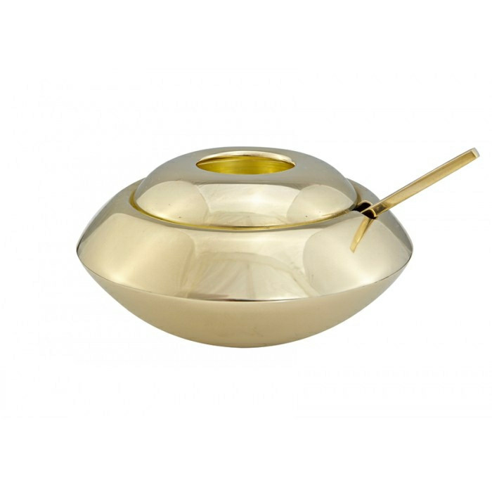 Tom Dixon Form Sugar Dish & Spoon, sukkerskål