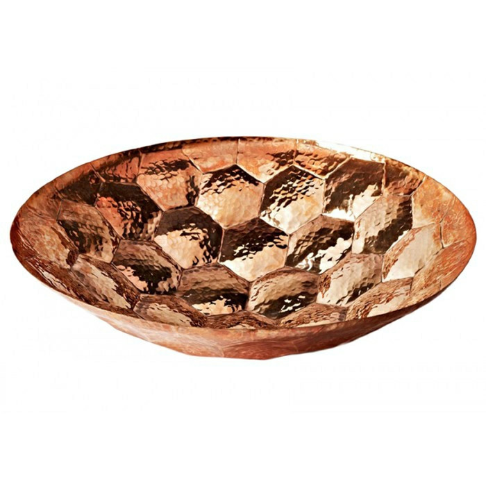 Tom Dixon Hex Bowl, stor bowle