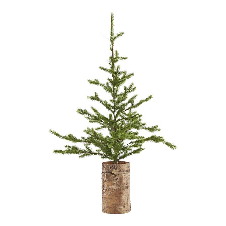 House Doctor Juletræ med lys, træ bund