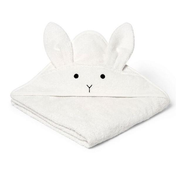 Liewood Augusta Rabbit håndklæde, Creme de la creme