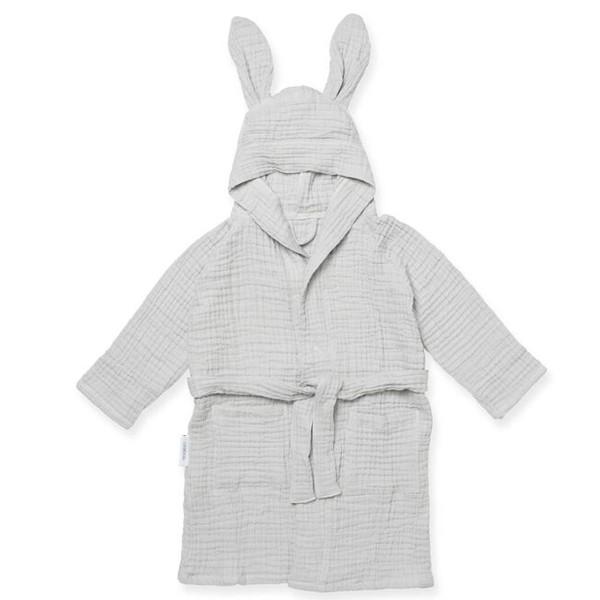 Liewood Dana Musling  Badekåbe Rabbit, Dumbo Grey
