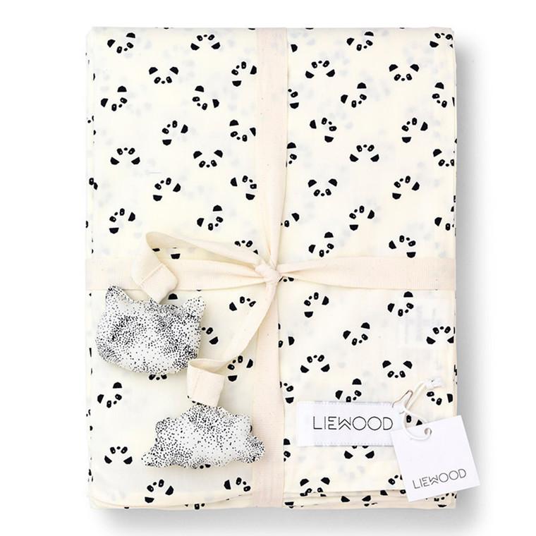 Liewood Panda baby & junior sengetøj
