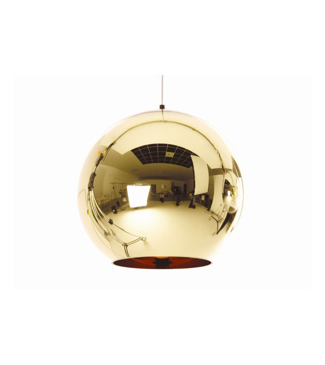 Tom Dixon Bronze Copper shade pendel 45 cm