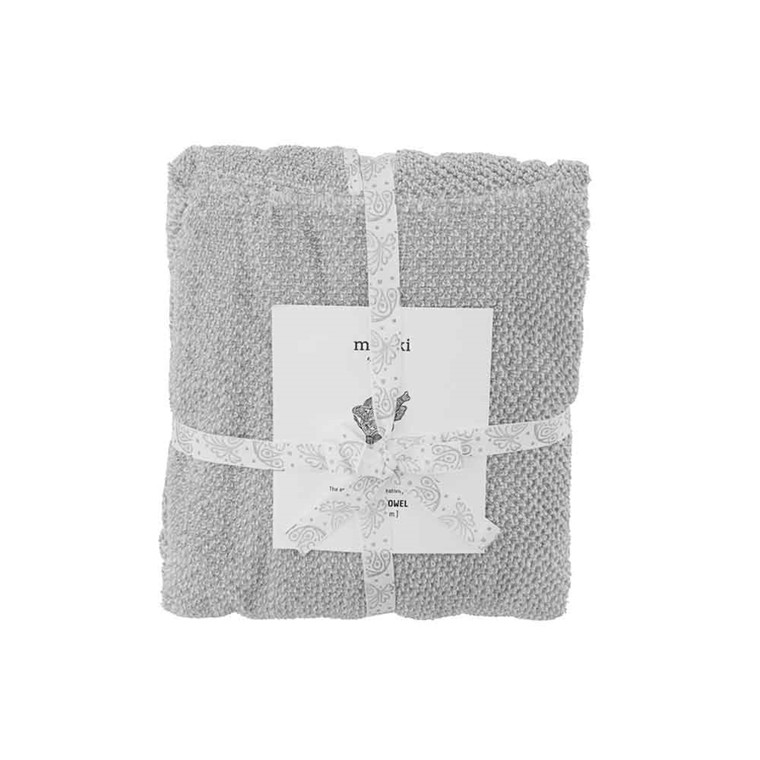 Meraki Mini poncho håndklæde, grå