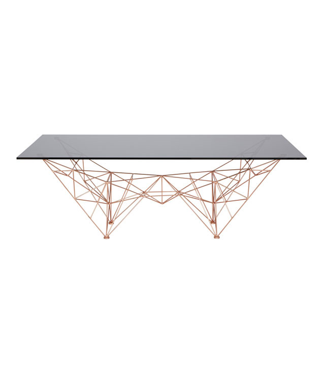 Tom Dixon Pylon Coffee Table, sofabord