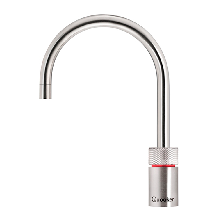 Quooker Nordic Round single tap inkl. Pro3vaq E beholder