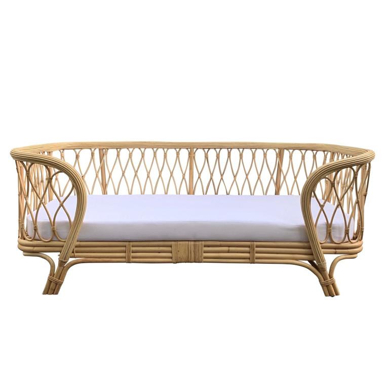 Petite Legarth Rattan sofa