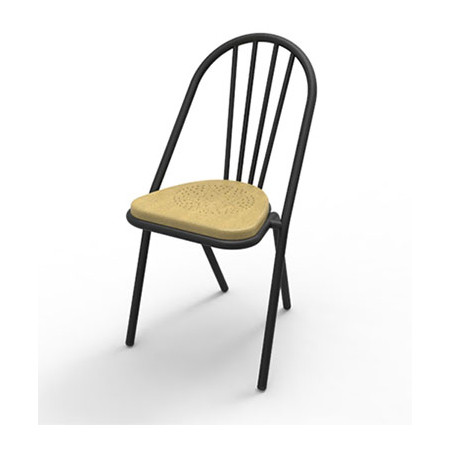 Surpil SL10 stol, Lyst lakeret krydsfiner