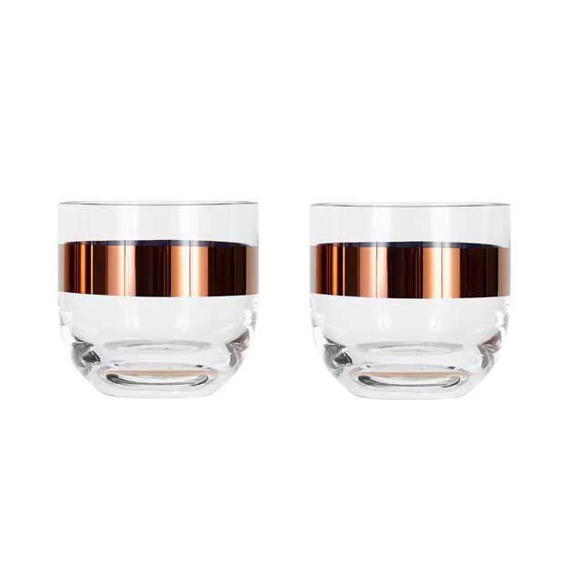 Tom Dixon Tank whisky glas, 2 stk.
