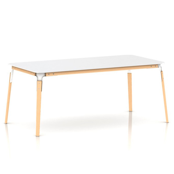 Magis Steelwood Table bord, rektangulær