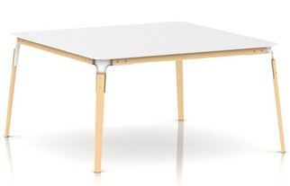 Magis Steelwood Table bord, kvadratisk
