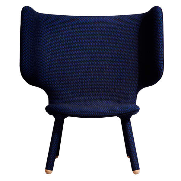 New Works Tembo Lounge Chair i blå