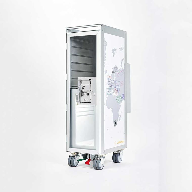 Bordbar Cooler mini køleskab t/ Trolley vogn