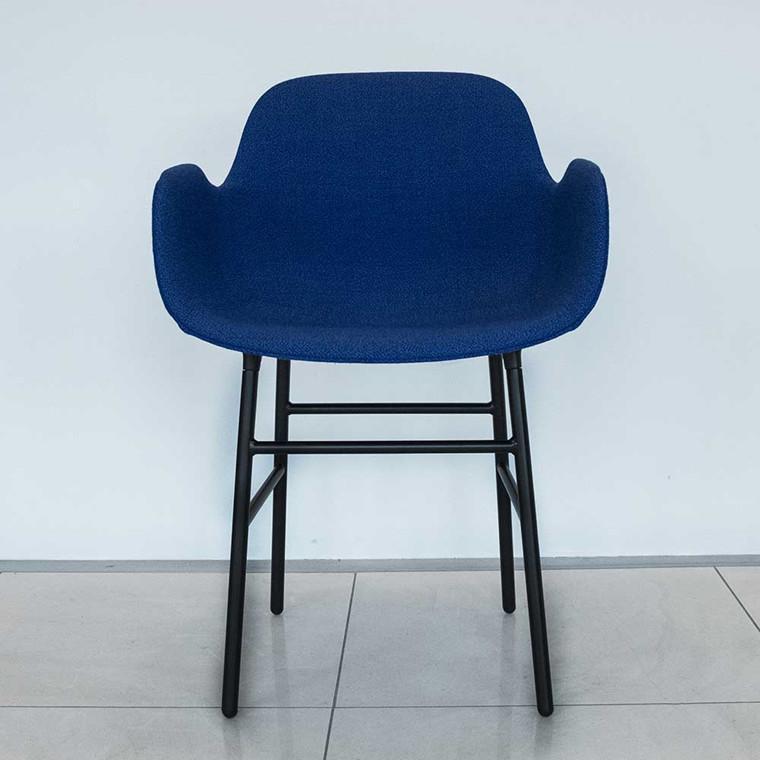 Normann Copenhagen Form Armchair Fame Hybrid, Stål - udstillingsmodel