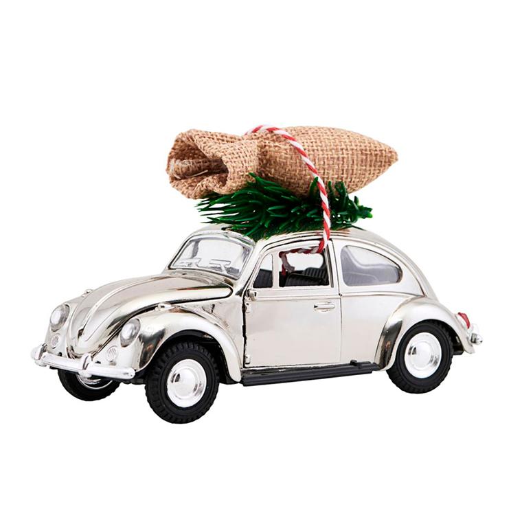 House Doctor XMAS Car julepynt m/juletræ, krom