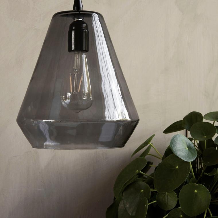 House Doctor Hood pendel lampe i grå