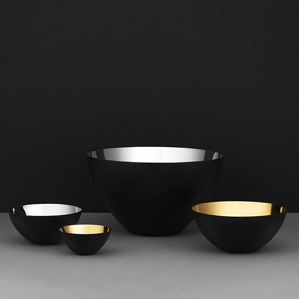 Normann Copenhagen Krenit Bowl, Silver