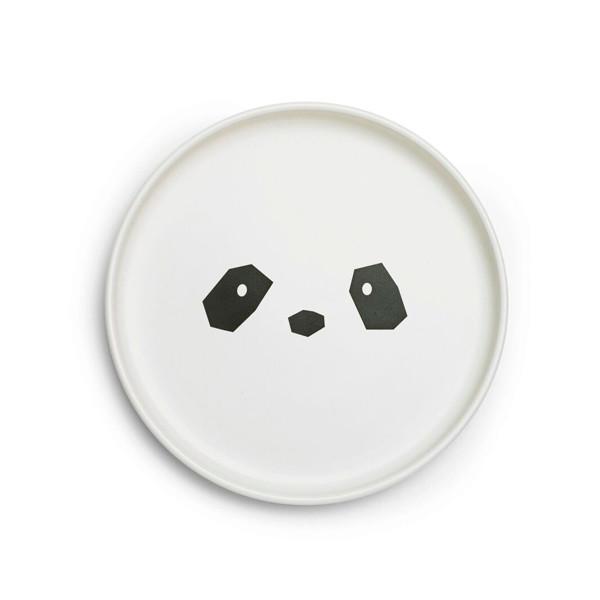 Liewood Herman Tallerken Panda Creme de la creme