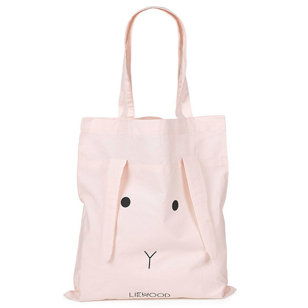 Liewood Tote Bag Rabbit Pose, Sweet Rose