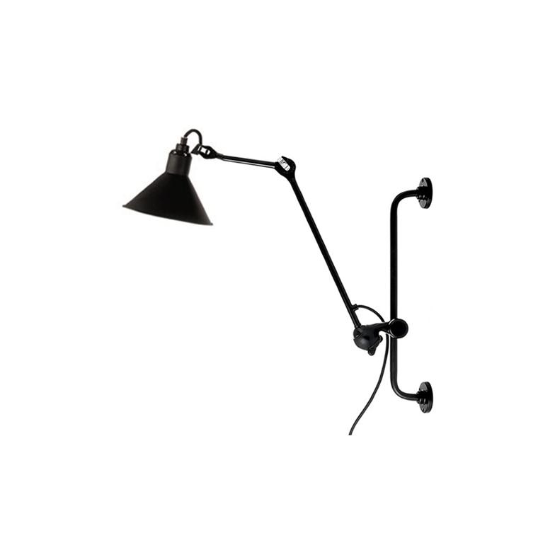 Lampe Gras N 210 væglampe m. conic stor lampeskærm