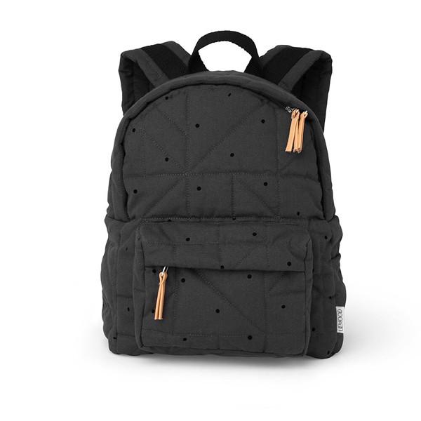 Liewood Back Pack, Classic dot Mørkegrå