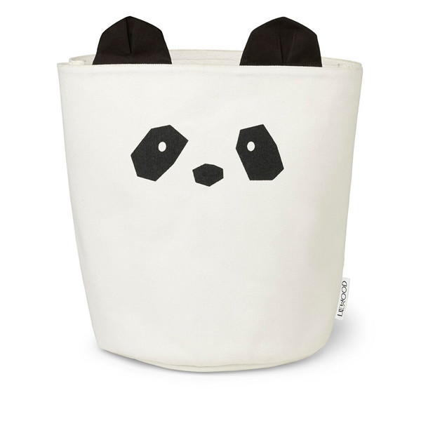 Liewood Fabric Basket Panda, Creme De La Creme