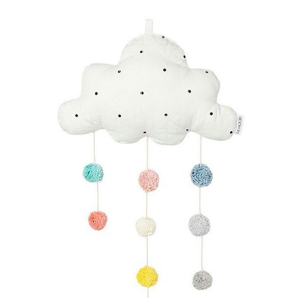 Liewood Clara Mobile Cloud Classic Dot, Large