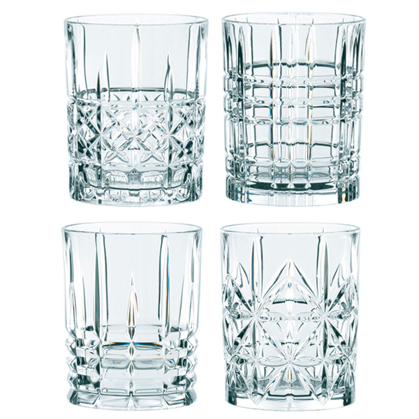 Nachtmann Highland Whisky glas, 4 stk.