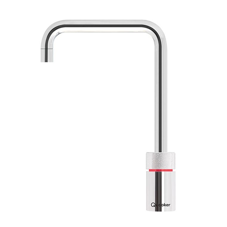 Quooker Nordic Square single tap inkl. Combi+ beholder