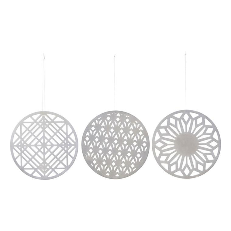 House Doctor Ornaments i sølvfinnish, sæt af 3