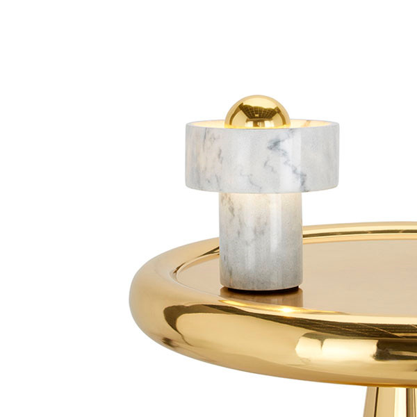 Tom Dixon Stone bordlampe, Marmor