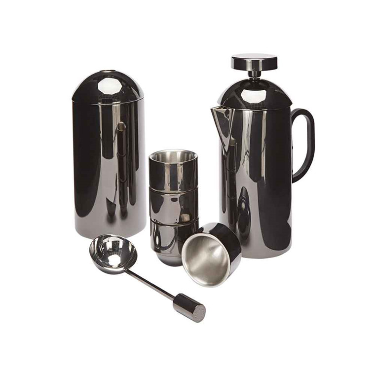 Tom Dixon Brew Cafetiere, stempelkande sæt i sort