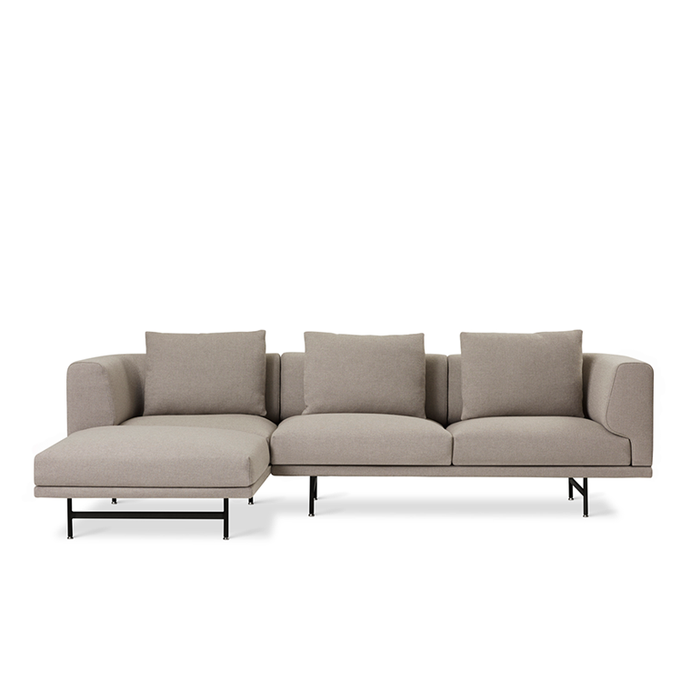 Vipp 632 Chimney sofa - 3 personers i Steelcut Trio 3