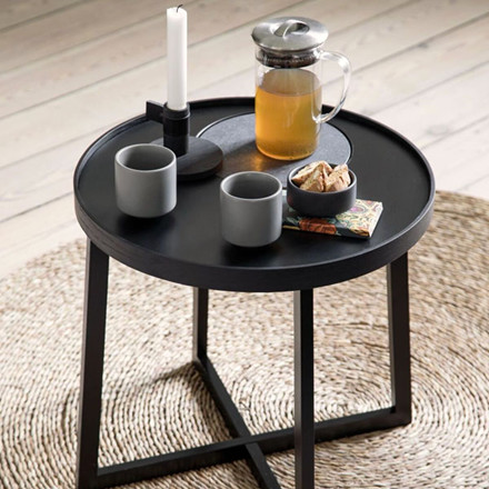 By Wirth Table Tray Bakkebord, Sort