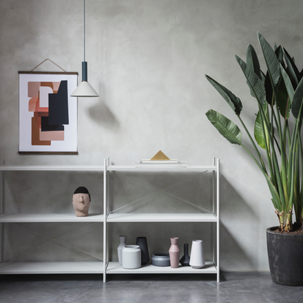Ferm Living Punctual reolsystem 3x2