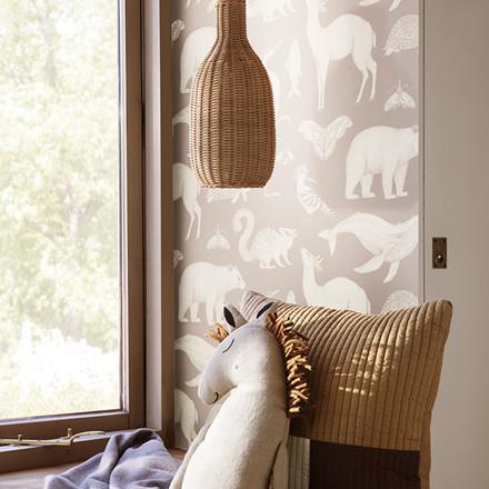 Ferm Living Braided Bottle Lamp shade, lampeskærm