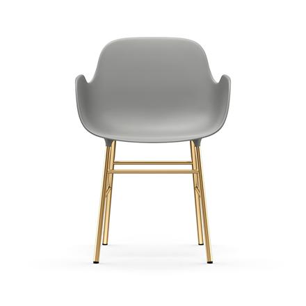 Normann Copenhagen Form Armchair, Messing
