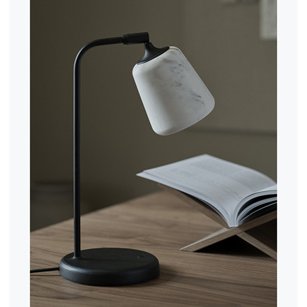 New Works Material Table Lamp, The Black Sheep Edition