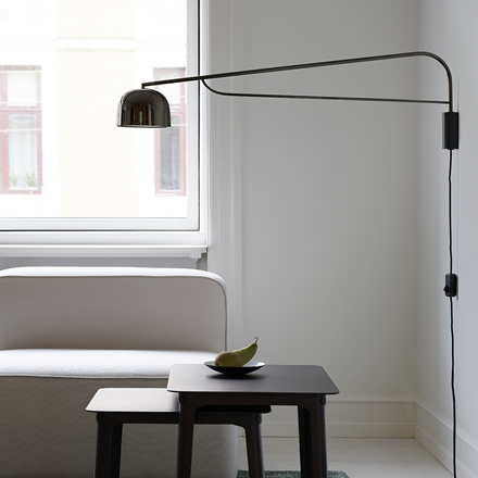 Normann Copenhagen Grant væglampe, 111 cm