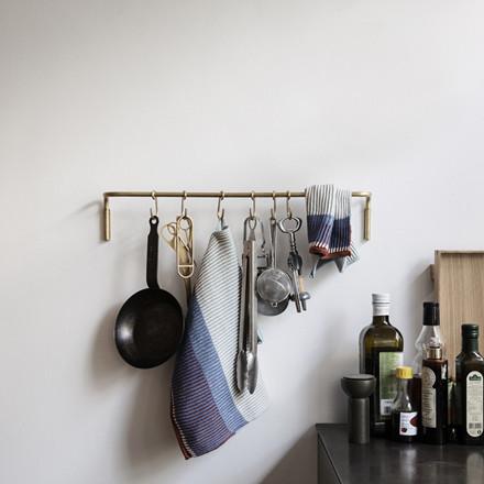 Ferm Living Kitchen Rod, knagerække