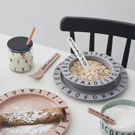 Design Letters Eat & Learn Tallerken